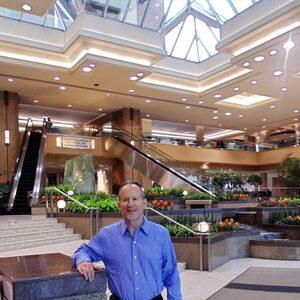 Sam Travis in Sun Life Plaza Atrium