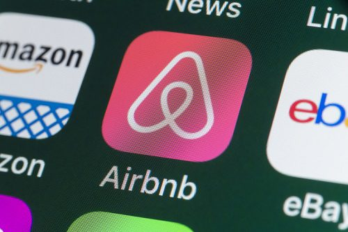 Airbnb, On IPhone Screen