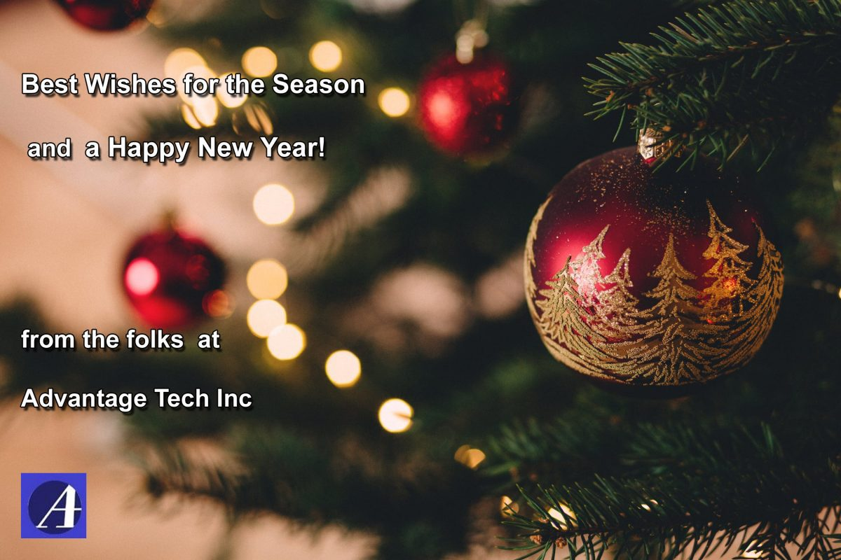 AdvantageTech 2019 Xmas Card For Social Media